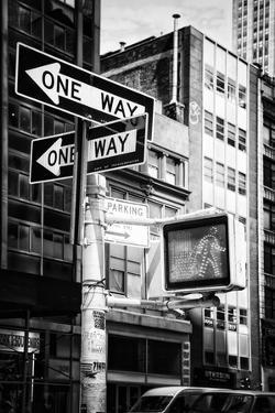 Black Manhattan Collection - One Way by Philippe Hugonnard