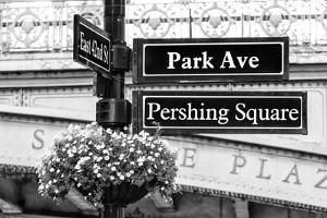 Black Manhattan Collection - Pershing Square by Philippe Hugonnard