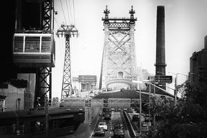Black Manhattan Collection - Queensboro Bridge by Philippe Hugonnard
