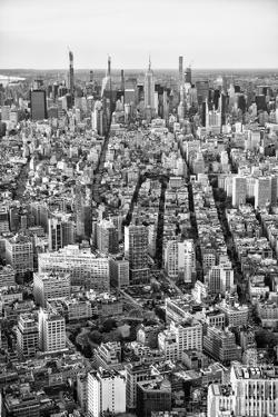 Black Manhattan Collection - Seen from above I by Philippe Hugonnard