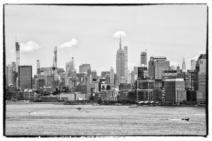 Black Manhattan Collection - Skyline New York City by Philippe Hugonnard