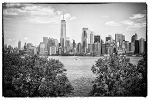 Black Manhattan Collection - Skyline by Philippe Hugonnard