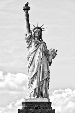 Black Manhattan Collection - Statue of Liberty I by Philippe Hugonnard