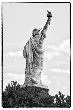 Black Manhattan Collection - Statue of Liberty III by Philippe Hugonnard