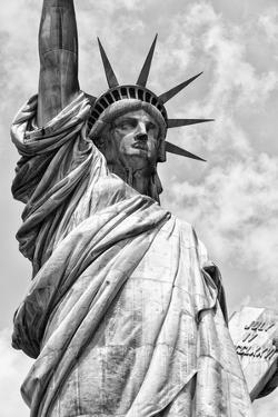 Black Manhattan Collection - Statue of Liberty by Philippe Hugonnard