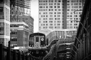 Black Manhattan Collection - Subway by Philippe Hugonnard