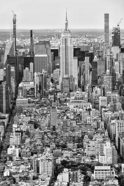 Black Manhattan Collection - The Empire State Building by Philippe Hugonnard