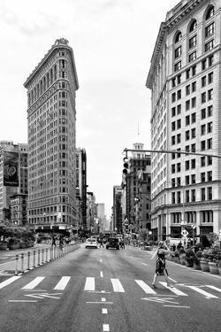 Black Manhattan Collection - The Flatiron Building by Philippe Hugonnard