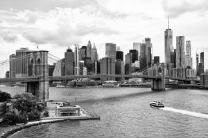 Black Manhattan Collection - The NYC Skyline by Philippe Hugonnard