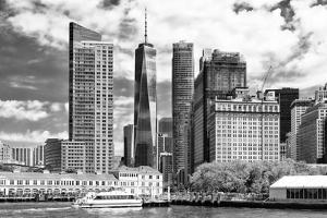 Black Manhattan Collection - The One World Trade Center by Philippe Hugonnard