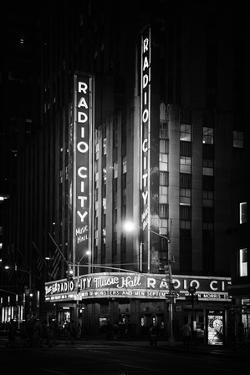 Black Manhattan Collection - The Radio City Music Hall by Philippe Hugonnard