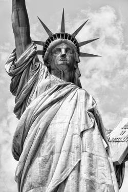 Black Manhattan Collection - The Statue of Liberty II by Philippe Hugonnard