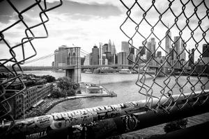 Black Manhattan Collection - Through the Fence by Philippe Hugonnard