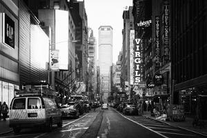 Black Manhattan Collection - Times Square at Nightfall by Philippe Hugonnard