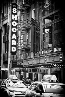 Black Manhattan Collection - Times Square Theatre by Philippe Hugonnard