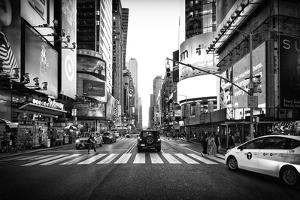 Black Manhattan Collection - Times Square by Philippe Hugonnard