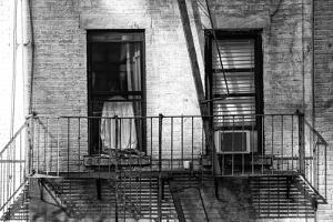 Black Manhattan Collection - Two Windows by Philippe Hugonnard
