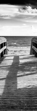 Boardwalk on the Beach at Sunset by Philippe Hugonnard