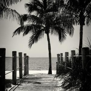 Boardwalk on the Beach - Key West - Florida by Philippe Hugonnard