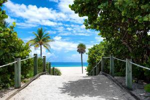 Boardwalk on the Beach - Miami - Florida - United States by Philippe Hugonnard