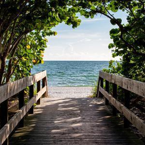Boardwalk on the Beach by Philippe Hugonnard
