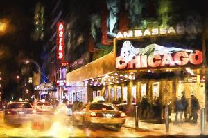 Broadway at Night II by Philippe Hugonnard