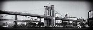 Brooklyn Bridge - Panoramic Lanscape - Manhattan - New York City - United States by Philippe Hugonnard