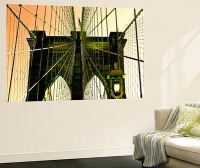 Brooklyn Bridge - Pop Art - United States by Philippe Hugonnard