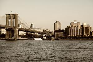 Brooklyn Bridge - The Watchtower - Manhattan - New York City - United States by Philippe Hugonnard
