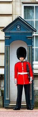Buckingham Palace Guard - London - UK - England - United Kingdom - Europe - Door Poster by Philippe Hugonnard