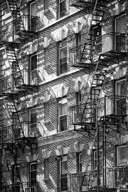 Buildings - Stairs - Emergency - New York City - United States by Philippe Hugonnard