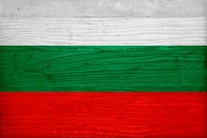 Bulgaria Flag Design with Wood Patterning - Flags of the World Series by Philippe Hugonnard