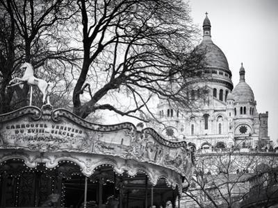 Carousel 18th century - Sacré-Cœur Basilica - Montmartre - Paris - France by Philippe Hugonnard
