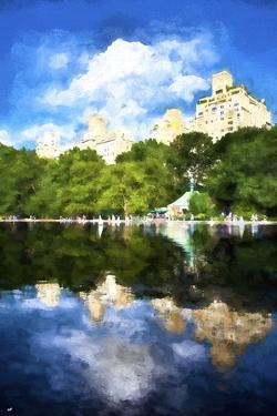 Central Park Reflection by Philippe Hugonnard
