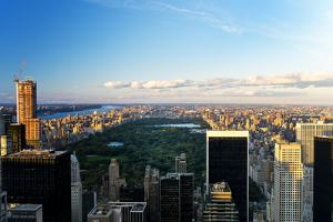Central Park - Sunset - Manhattan - New York City - United States by Philippe Hugonnard