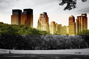 Central Park view - Manhattan - New York City - United States by Philippe Hugonnard