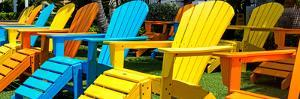 Chairs Color - Key West - Florida by Philippe Hugonnard