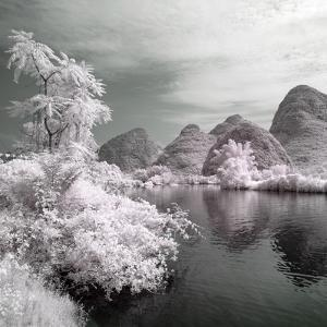 China 10MKm2 Collection - Another Look - Mountain Lake by Philippe Hugonnard