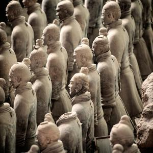 China 10MKm2 Collection - Army of Terracotta Warriors - Shaanxi Province by Philippe Hugonnard