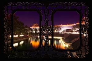 China 10MKm2 Collection - Asian Window - City Night Xi'an by Philippe Hugonnard
