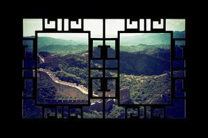 China 10MKm2 Collection - Asian Window - Great Wall of China by Philippe Hugonnard