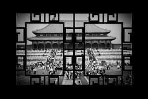 China 10MKm2 Collection - Asian Window - Palace Area of the Forbidden City by Philippe Hugonnard
