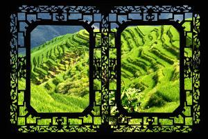 China 10MKm2 Collection - Asian Window - Rice Terraces - Longsheng Ping'an - Guangxi by Philippe Hugonnard