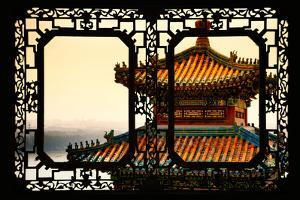 China 10MKm2 Collection - Asian Window - Summer Palace Architecture by Philippe Hugonnard