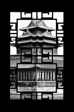 China 10MKm2 Collection - Asian Window - Watchtower - Forbidden City by Philippe Hugonnard