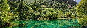 China 10MKm2 Collection - Beautiful Lake in the Jiuzhaigou National Park by Philippe Hugonnard