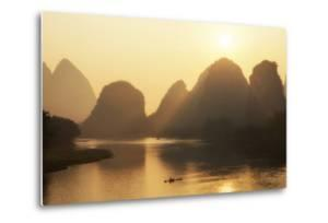 China 10MKm2 Collection - Beautiful Scenery of Yangshuo with Karst Mountains at Sunrise by Philippe Hugonnard