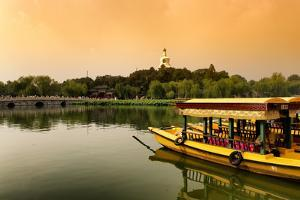 China 10MKm2 Collection - Beihai Park at Sunset by Philippe Hugonnard