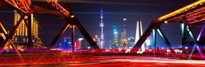 China 10MKm2 Collection - Colorful Garden Bridge - Shanghai