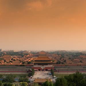 China 10MKm2 Collection - Forbidden City at Sunset - Beijing by Philippe Hugonnard